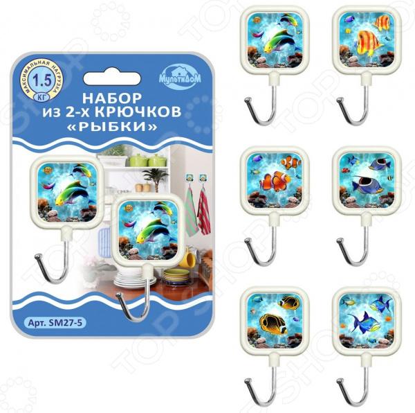 Zakazat.ru: Набор крючков Мультидом «Рыбки» SM27-5. В ассортименте