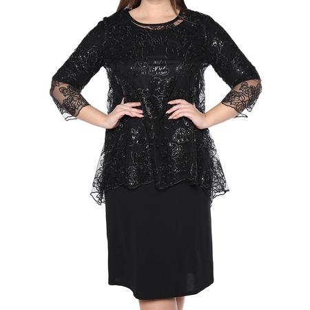 Купить Платье Blagof «Царские узоры». Цвет: черный