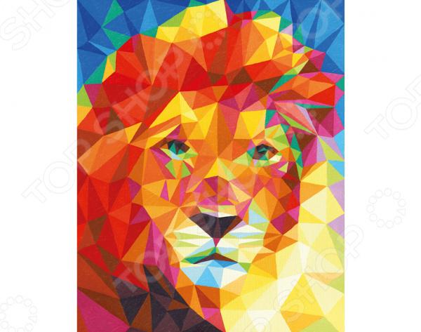 Набор для рисования по номерам Schipper «Лев»