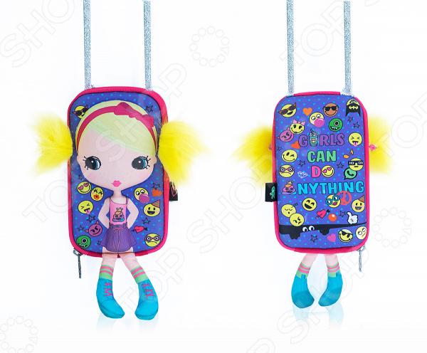 55f856021f58 Сумка-кукла Okiedog Милашка небольшая сумочка с крутой куклой на передней  части, которая составит компанию вашему ребенку. Стильная и очаровательная  кукла с ...