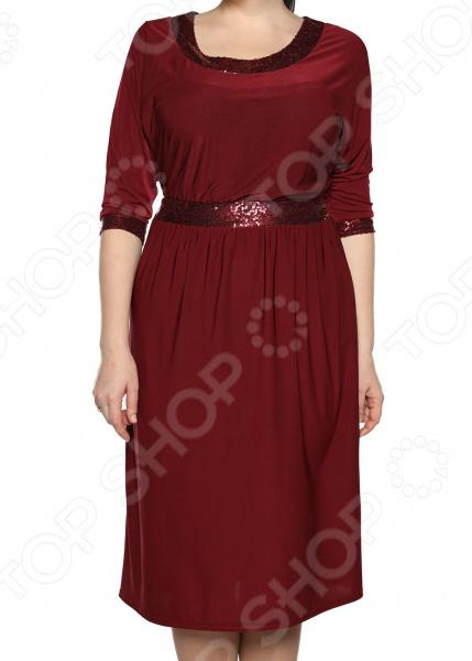 Платье Pretty Woman «Мелодия торжества». Цвет: бордовый