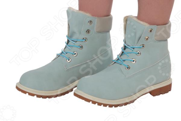 Ботинки Mon Ami «Удобная походка». Цвет: голубой тапочки mon ami mon ami mo151awnfe01