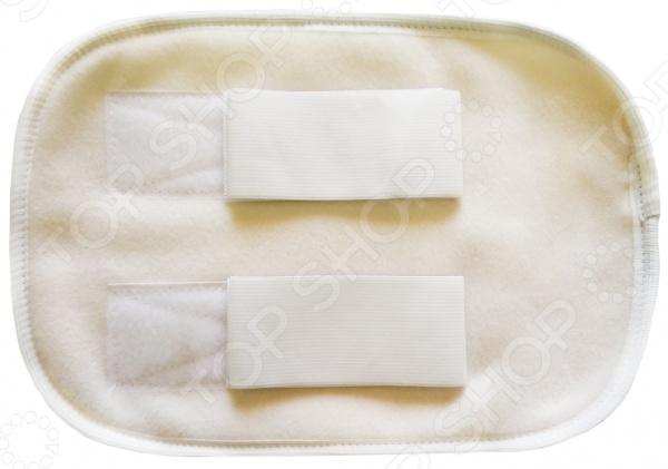 Наколенник-налокотник на резинке «липучке» Био-Текстиль «Овечий мех» наколенник налокотник из овечьего меха р s