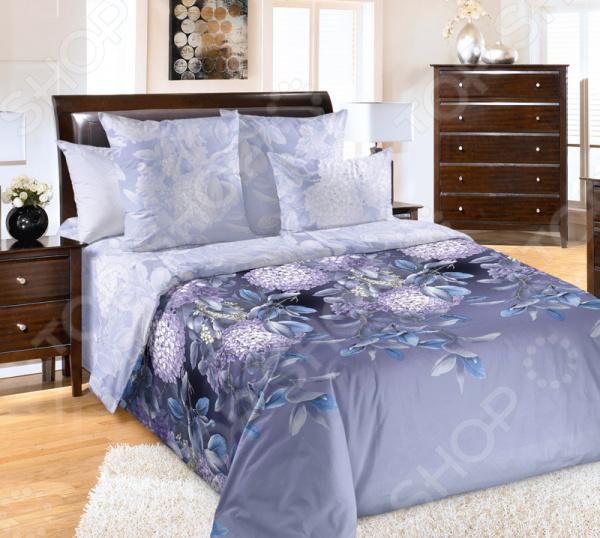 Комплект постельного белья ТексДизайн «Ночная серенада» комплект постельного белья altinbasak 1 5 сп ранфорс athletik голубой 298 42 char001