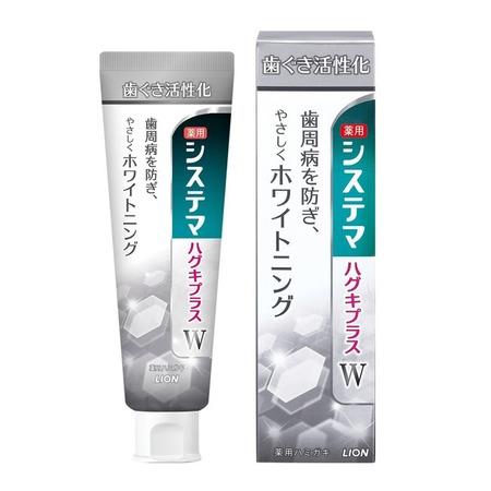 Купить Зубная паста Lion Dentor Systema gums plus. White