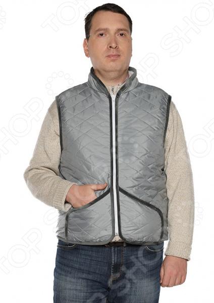 Жилет ТРЕНД «Настоящее тепло» модный жилет для мужчин no fear