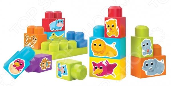 Фото - Конструктор для малышей Mega Bloks «Обучающий кубик» mega bloks mega bloks конструктор обучающий для малышей разные формы