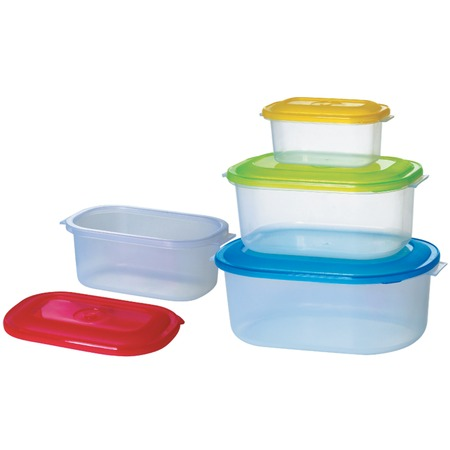 Купить Набор контейнеров для продуктов «Компакт». Форма: прямоугольные