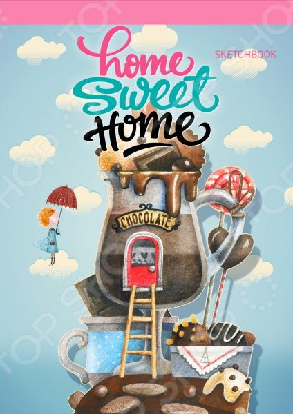 Блокноты. Тетради Эксмо 978-5-699-88913-6 Home sweet home! Chocolate. Блокнот