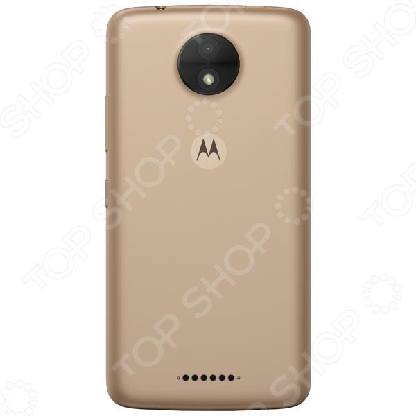 Смартфон Motorola XT1754 16Gb 1Gb 4G обеспечит стабильную связь и удобный доступ в интернет. Никакого торможения и зависания при просмотре видео, быстрый отклик в онлайн-играх, комфортное общение, прослушивание музыки, чтение и пр. Это устройство станет отличным решением для людей, ведущих активный образ жизни.   Энергосберегающий процессор и большая емкость батареи гарантируют активное использование телефона в течение 30 часов без необходимости подзарядки.  Лаконичный продуманный дизайн корпуса смартфон очень удобен в использовании, легко помещается в кармане; задняя крышка с нескользящим покрытием Soft touch.  Оптимальная цветопередача и контрастность изображения для комфортного просмотра видео даже в солнечную погоду.  ОС Android 7.0 нормализует энергопотребление и обеспечивает ускоренный запуск часто используемых программ. Это происходит на основе тщательного анализа последовательности действий пользователя.  Делайте снимки в любой момент и совершайте видео-вызовы, используя основную фото- и видеокамеру 5 Мп и фронтальную камеру для селфи 2 Мп .  Основная камера снабжена автоматически настраиваемым фокусом и светосильной оптикой. Фронтальная камера способна создавать качественные снимки даже в плохо освещенных помещениях предусмотрена отдельная вспышка и поддержка режима HDR . Возможность работы в режиме панорамной и серийной съемки.  Внутренняя память 16 Гб; если объем собранной информации превышает объем встроенной памяти, воспользуйтесь дополнительной картой microSD microSDHC объемом до 32 ГБ для нее предусмотрен слот .  Комфортное взаимодействие с приложениями благодаря высокопроизводительному 4-х ядерному процессору MediaTek MT6737M.  Поддержка работы 2 SIM-карт, чтобы вы могли комфортно общаться с пользователями разных мобильных операторов.