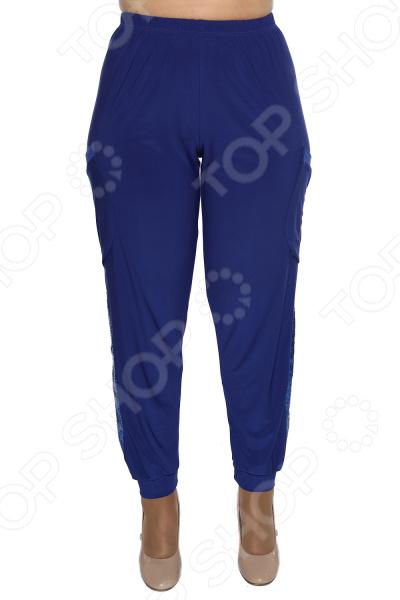 Брюки Pretty Woman «Минута славы». Цвет: васильковый брюки pretty woman восточная сказка цвет синий