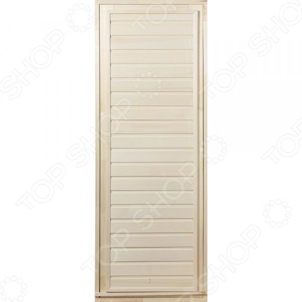 Дверь для бани глухая Банные штучки 03323