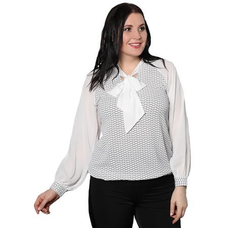 Купить Блуза Blagof «Пелагея». Цвет: белый