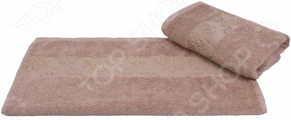 Полотенце махровое Hobby Home Collection Ruzanna. Цвет: светло-коричневый