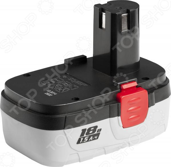 Батарея аккумуляторная Зубр ЗАКБ-18 N15 аккумулятор зубр закб 7 2 l15
