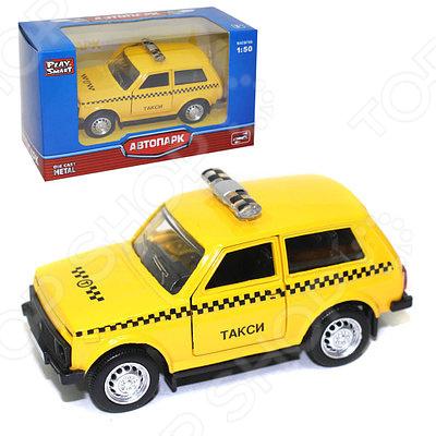 Машина инерционная PlaySmart «Такси». В ассортименте