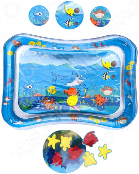 Коврик развивающий MSN Toys «Водный»