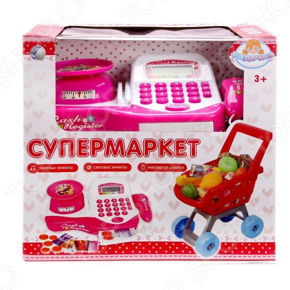 Игровой набор для ребенка Наша Игрушка «Супермаркет Радочка». Количество предметов: 29 игрушка coloma супермаркет для детей от 3 лет 17 предметов