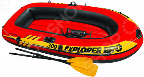 Лодка надувная с аксессуарами Intex Explorer Pro 300 лодка надувная intex эксплорер 200 58330