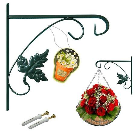 Купить Кронштейн для подвешивания цветов Мультидом «Листок» SW83-123