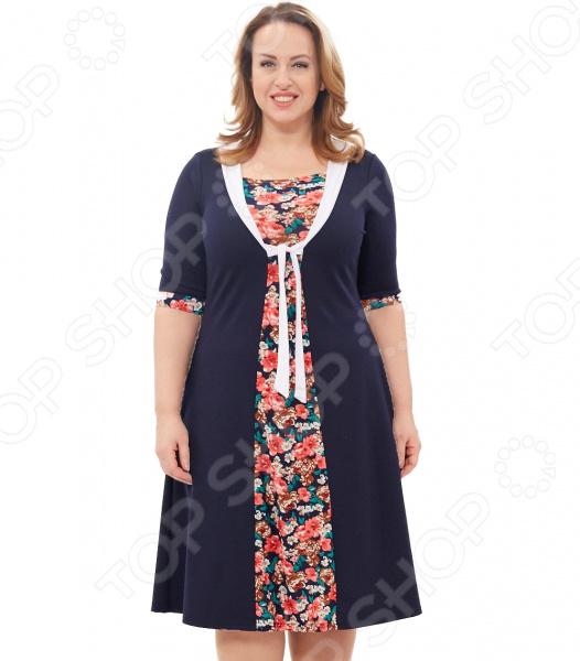 Платье Laura Amatti «Магдалина». Цвет: мультиколор