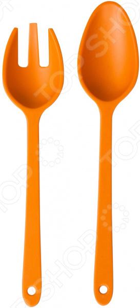 Набор: салатная ложка и вилка MoulinVilla TSF-04-br