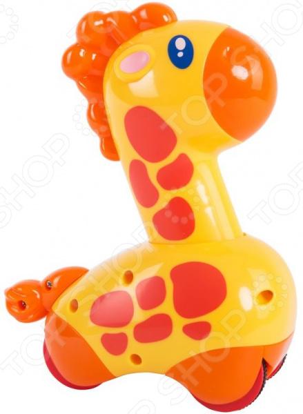 Фигурка инерционная HAP-P-KID Safari «Жираф» игрушка робот hap p kid polar captain