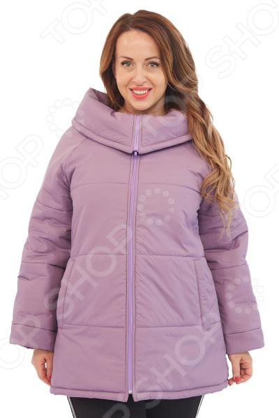 Куртка СВМ-ПРИНТ «Леонсия». Цвет: сиреневый