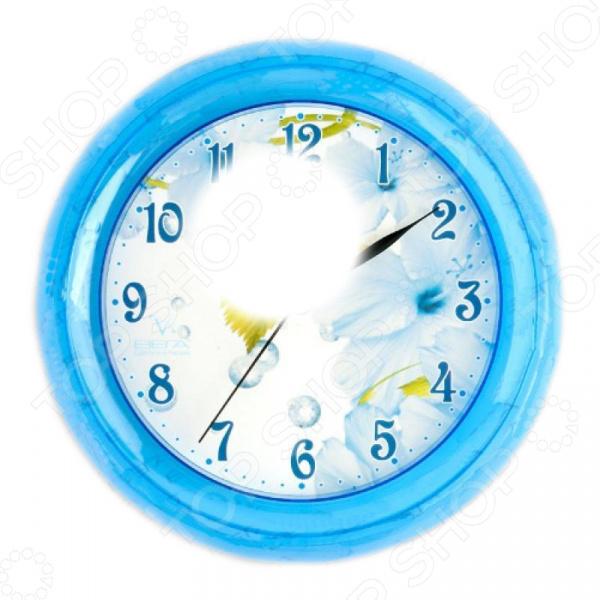 Часы настенные Вега П 6-4-3 «Лист» декопир лист в хабаровске
