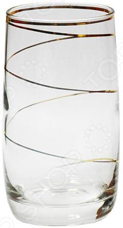 Набор стаканов Гусь Хрустальный «Эдем. Змейка» набор бокалов для бренди гусь хрустальный эдем каскад