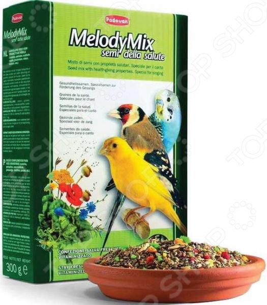 Корм для декоративных птиц Padovan MelodyMix корм для тропических птиц padovan wellness mix полнорационный 1кг