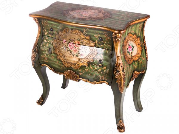 Комод 395-124 гладильный комод he wang с 3 корзинами и 2 ящиками цвет коричневый горчичный