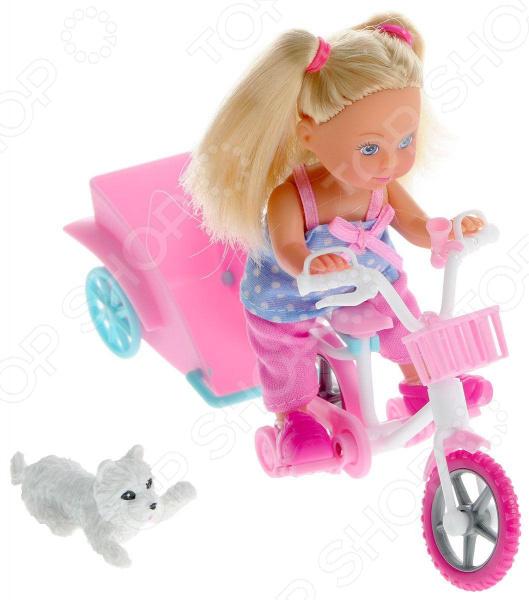 Кукла с аксессуарами Simba «Еви на велосипеде с собачкой»ю В ассортименте