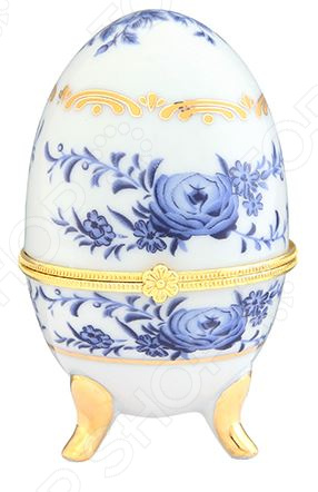 Шкатулка сувенирная Elan Gallery «Голубой цветок» Elan Gallery - артикул: 970525