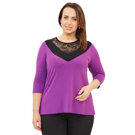 Купить Блуза Матекс «Теплые лучи». Цвет: сиреневый