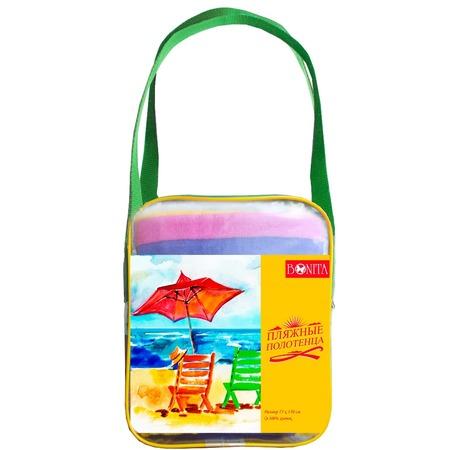 Купить Комплект из 2-х махровых полотенец BONITA «Тропики»