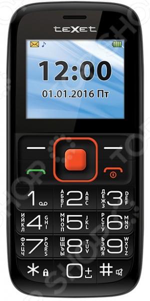 Мобильный телефон Texet TM-B117 texet tm b117 black orange