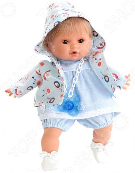 Кукла интерактивная Munecas Antonio Juan «Ник» кукла bloopies кукла для купания коби 95595