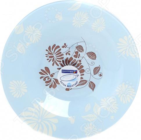 Тарелка суповая Luminarc Tamako. Цвет: коричневый Luminarc - артикул: 1721317