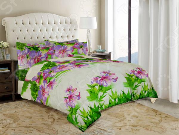 Комплект постельного белья «Акварель». Евро