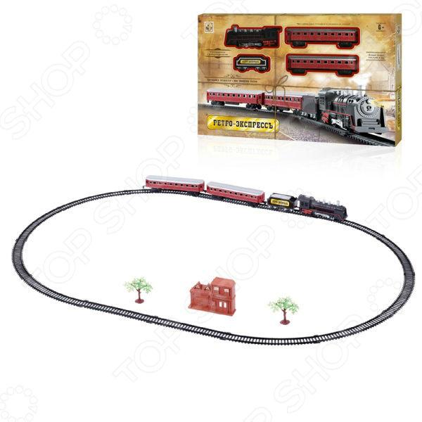 Набор железнодорожный 1 Toy «Ретро Экспресс» Т10147