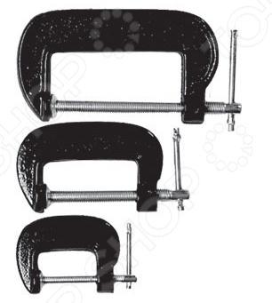 Набор струбцин SPARTA G-образных 206755