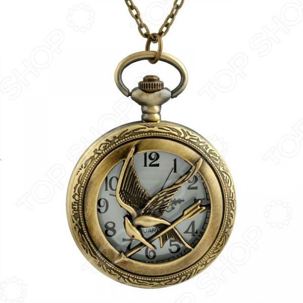 Кулон-часы Mitya Veselkov «Птица со стрелой»