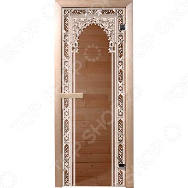 Дверь для бани Банные штучки «Восточная арка»