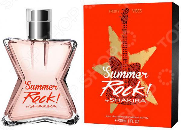 Туалетная вода для женщин Shakira Fruity Rock Summer Edition, 30 мл shakira dance diamonds туалетная вода женская 30 мл
