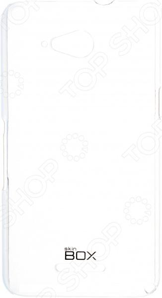 Чехол защитный skinBOX Sony Xperia E4G смартфон sony xperia xa1 ultra dual