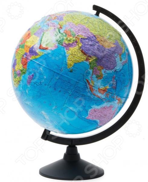 Глобус Globen «Политический рельефный» globen глобус земли физический диаметр 210 мм ке012100176