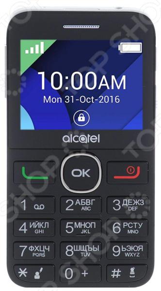 Мобильный телефон Alcatel OneTouch 2008G мобильный телефон alcatel onetouch 2008g black white