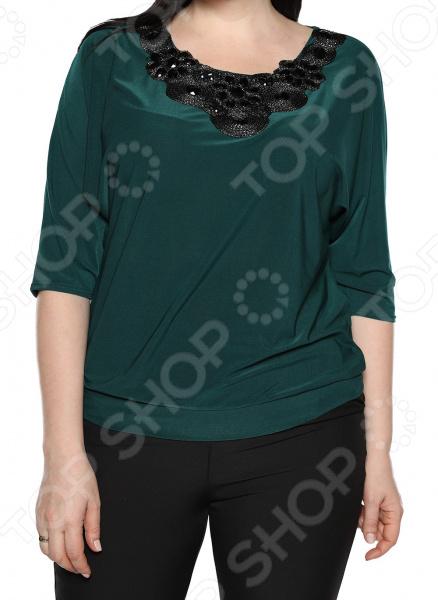 Блуза Pretty Woman «Блестящий полет». Цвет: зеленый блуза pretty woman волшебный взгляд цвет зеленый