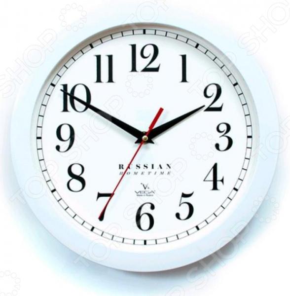 Часы настенные Вега П 1-7/7-271 «Классика» часы настенные вега п 4 14 7 86 новогодние подарки